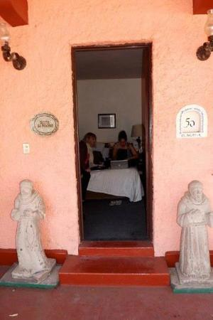 Posada Santa Fe: the Palomar ensuite. just perfect with private access to the terrace.