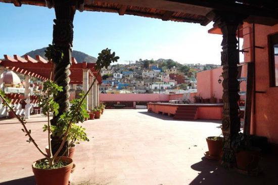 Posada Santa Fe: Palomar the view form the terrace door of the room