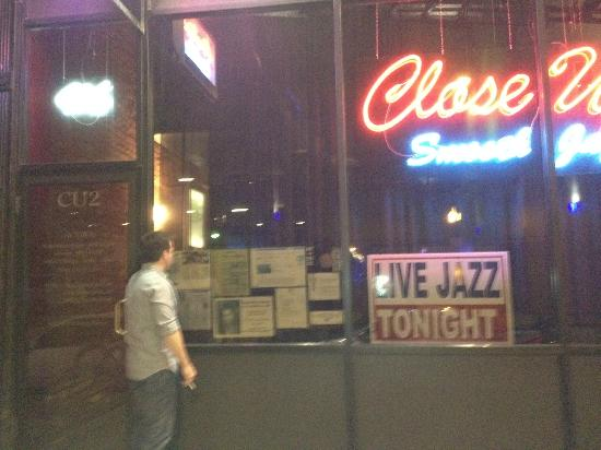 Close Up 2 Jazz Club: outside view