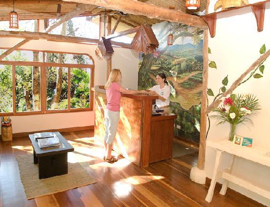 Finca Rosa Blanca Coffee Plantation & Inn: reception