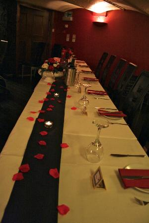 Amore Sunderland: Top Table for our wedding