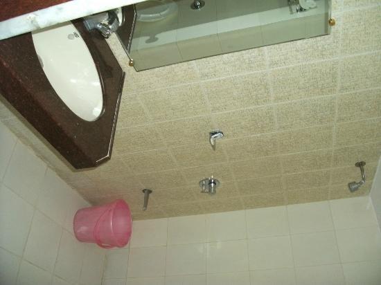 Hotel Silver Avenue: bath, no shower screen
