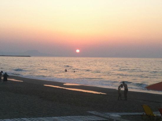 Summer Dream : Sunset on the beach