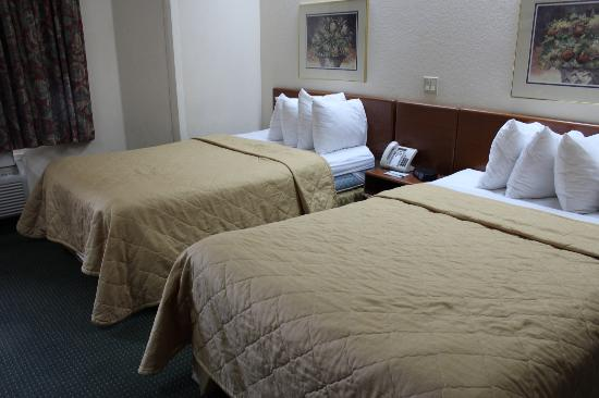 Sleep Inn : Double bed room
