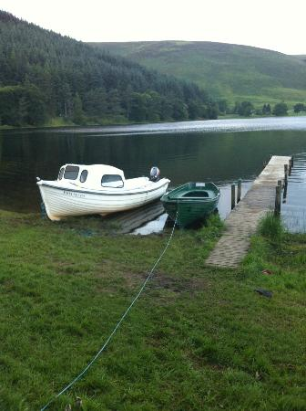 Tibbie Shiels Camping: View on to the Loch