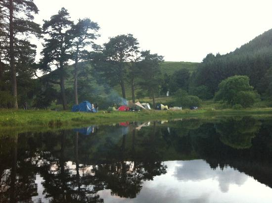 Tibbie Shiels Camping: Camping beside the Loch @ Tibbies