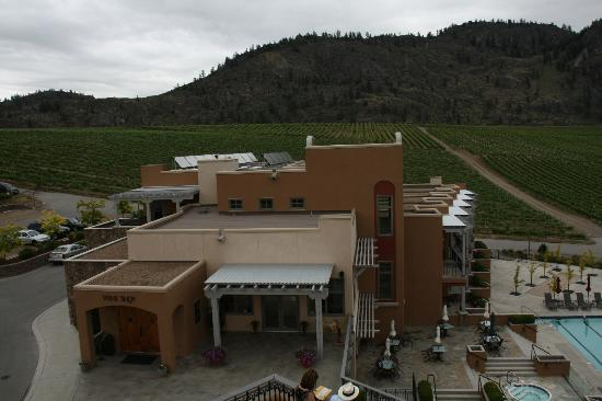 Burrowing Owl Estate Winery Guest House: A view from the tower...