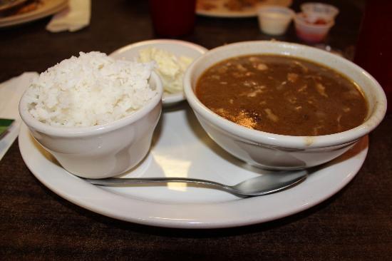 Hollier's Cajun Kitchen: Chicken and sausage gumbo