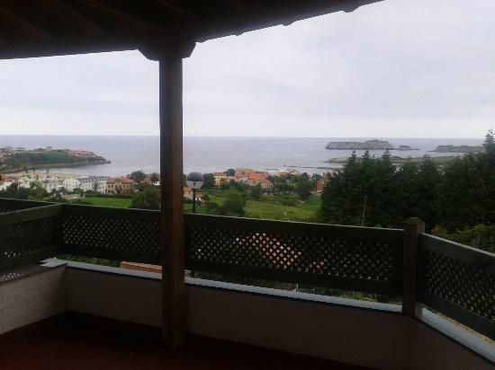 Hotel Montanes: Vista desde la terraza