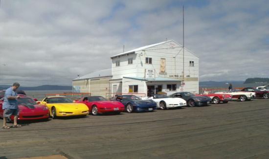 Beaver State Corvette Clubs at Rollin Thunder BBQ