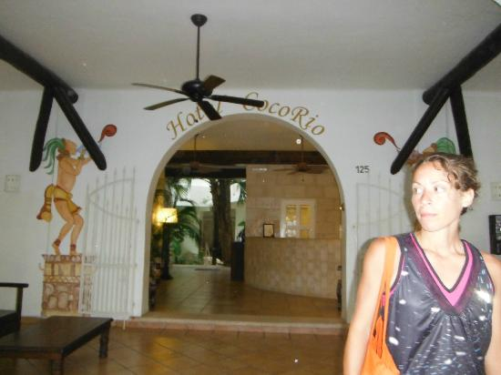 Coco Rio Playa del Carmen: Lobby
