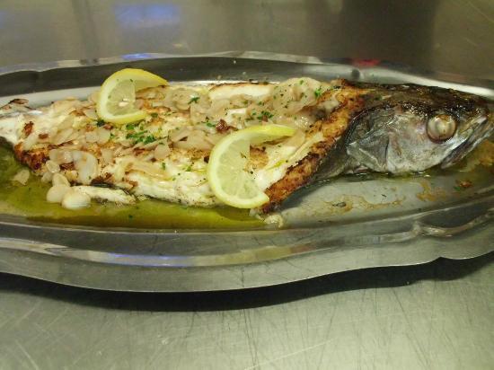 Brasserie de l'Ocean : merlu a l'espagnol
