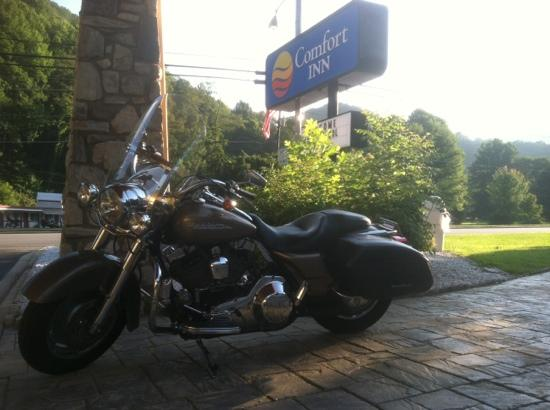 Comfort Inn: Biker Friendly!