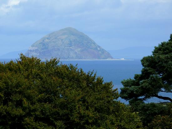 Glenapp Castle: View from the Room of the Irish Sea