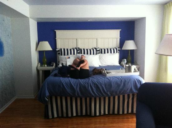 芝加哥市區黃金海岸靛藍酒店照片