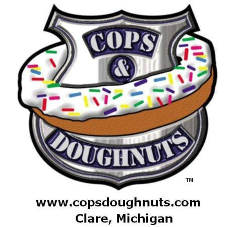 Cops & Doughnuts Bakery Downtown Clare, Michigan