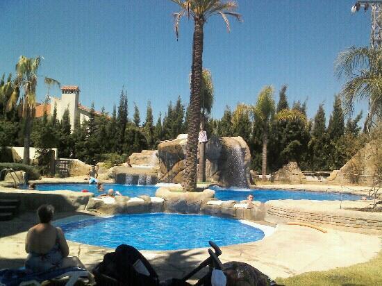 Rober palas: La piscina