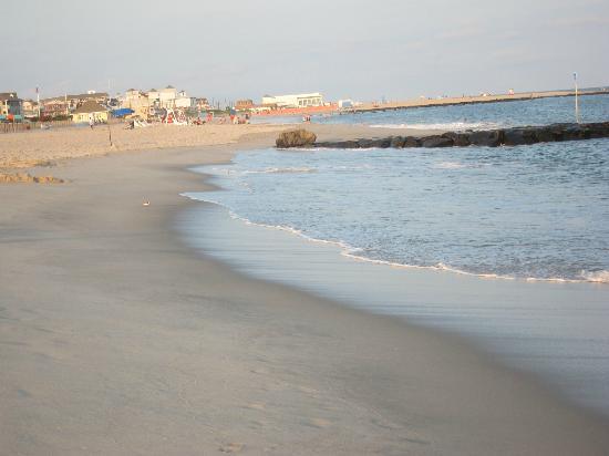 Sea Crest Motor Inn: The beach looking north.