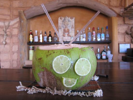 Casa Cuitlateca: The infamous Coco Loco drink