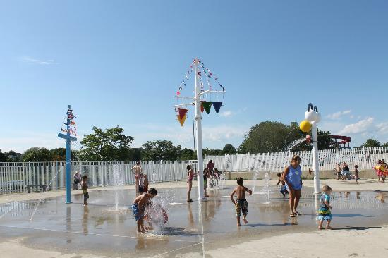 Ocean Beach Park Kids Playing Area