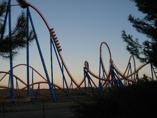 San Martín de la Vega, España: Superman Rollercoaster