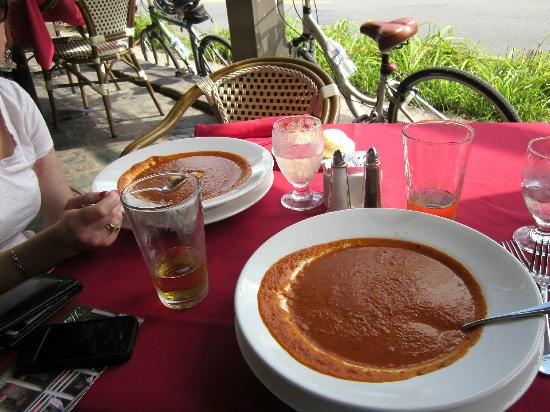 Stockton Inn : BEST TOMATO SOUP EVER!