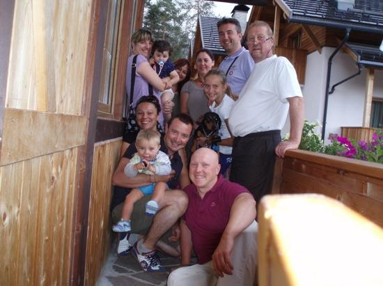 Albergo Villa Soreghina: fine soggiorno, assieme a Walter ed Anna