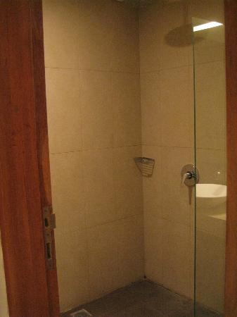 Adhi Jaya Sunset Hotel: shower room