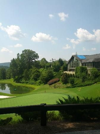 Kingwood Country Club & Resort: Kingwood Clubhouse and #9