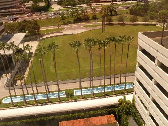 Holiday Inn Tampa Westshore: view from our window
