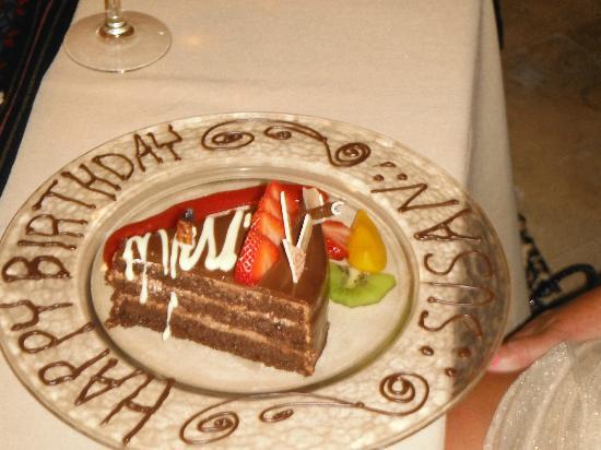 Villa del Palmar Flamingos Beach Resort & Spa Riviera Nayarit: Birthday celebration made extra special by Jose!