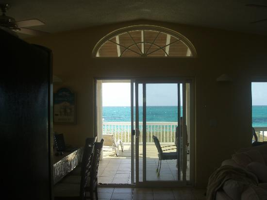 Aquamarine Beach Houses: Our view from kitchen
