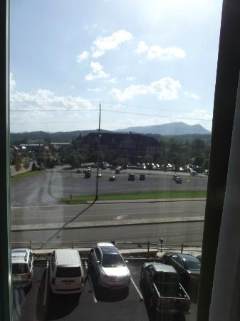 Hampton Inn Pigeon Forge: view from room 305