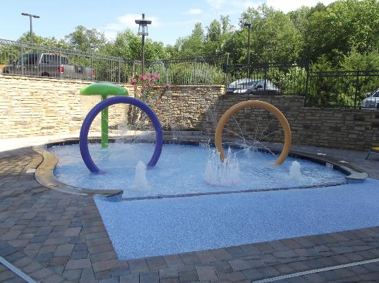 Hampton Inn Pigeon Forge: splash pad
