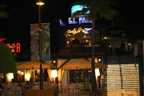 El Faro: The restaurant