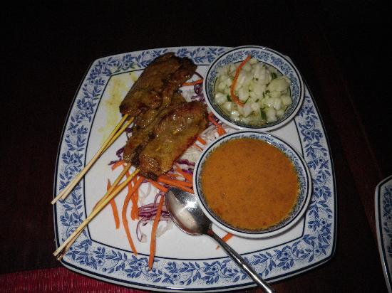 Tub Tim Thai : beef satay