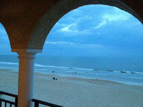 The Lodge and Club at Ponte Vedra Beach: View from room at dusk