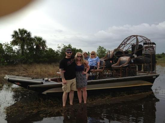 Walking In The Everglades Picture Of Corey Billie S