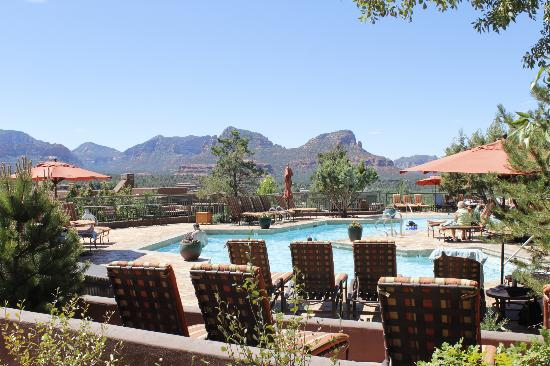 Hyatt Residence Club Sedona, Pinon Pointe: Pool with a VIew