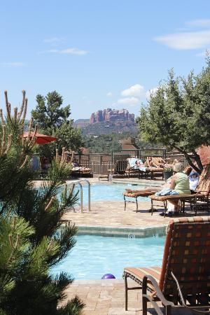 Hyatt Pinon Pointe: Poolside