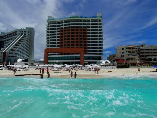 View From The Waves Picture Of Beach Palace Cancun