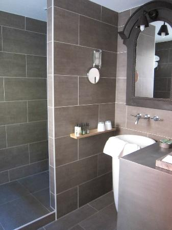 """Residence Le Pre aux Clercs: """"Loft"""" shower"""