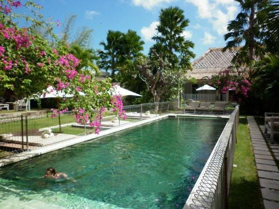 Villa Massilia Bali: View from the open main living area of Villa