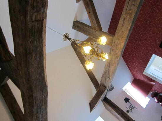 """Residence Le Pre aux Clercs: """"Suite"""" exposed beams in the ceiling"""