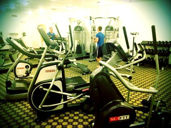 Staybridge Suites Gulf Shores: great gym