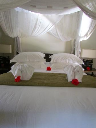 Villa Saraswati: Out bed