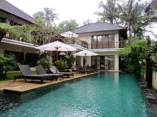 Villa Saraswati: Pool area