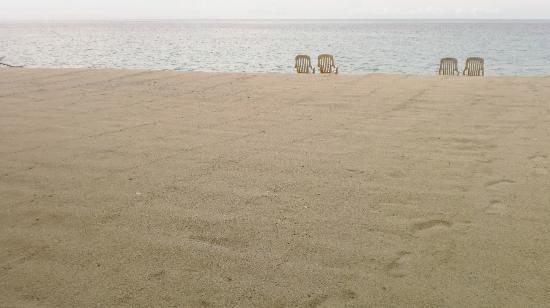 Taramindu Beach Garden Inn: Beach front 
