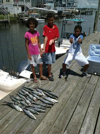 Mount Maker Charters : A great day fishing.