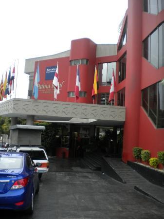 Palma Real Hotel & Casino: Hotel Entrance